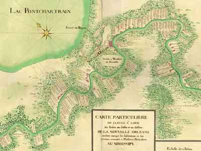Early Colonial Map of Mary Planttion